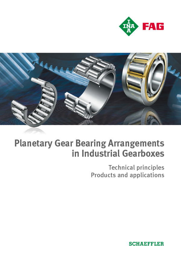 Planetary Gear Bearing Arrangements in Industrial Gearboxes