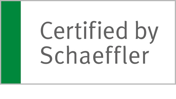 """Certified by Schaeffler"" replaces the existing ""Authorized Distributor Industrial"" status and is an optimized certification for the majority of our partners who already fulfill these high requirements."