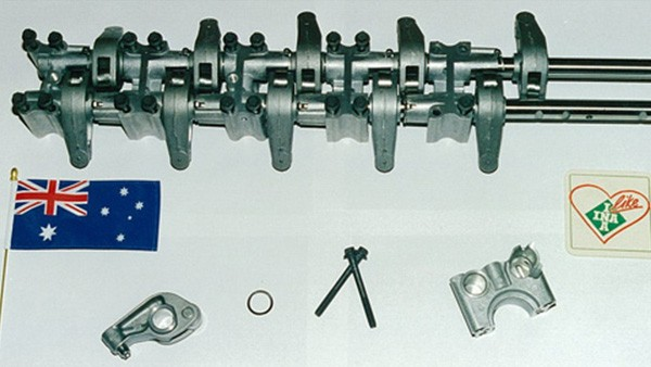 INA started the manufacture of complete Valvetrain Assemblies, Rocker Arms, and VT Shaft Supports for the Ford Falcon.