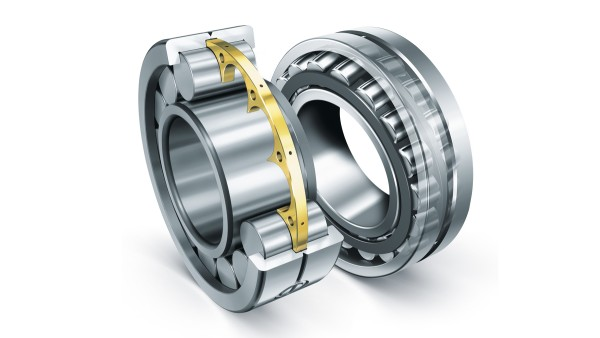 Schaeffler cylindrical roller bearings and spherical roller bearings meet the extreme requirements for construction machinery.