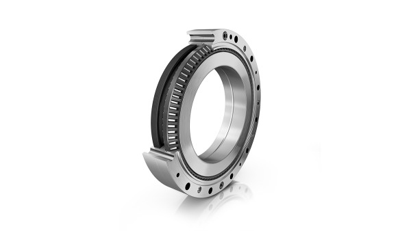 New bearing type: The double-row XZU-series angular contact needle roller bearing.