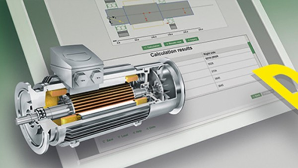 Free of charge calculation module for the online calculation of electric motors and generators
