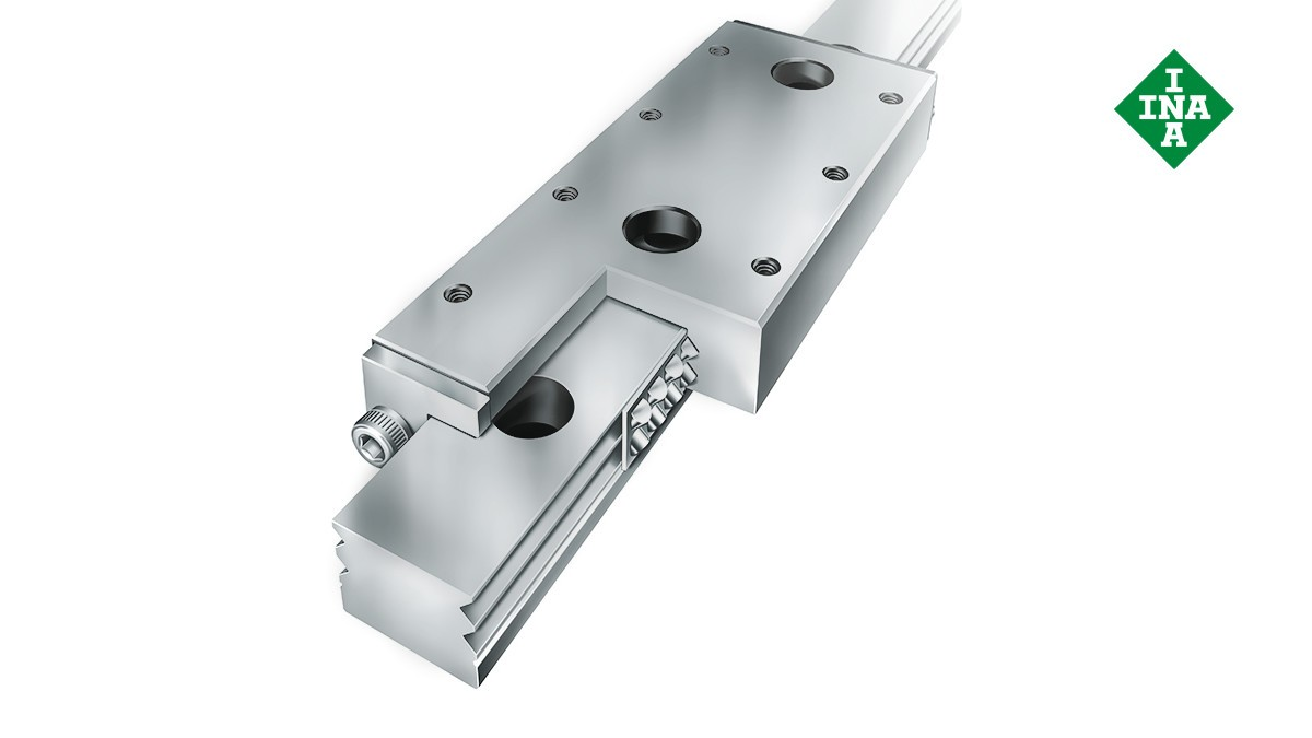 Schaeffler linear guides: Miniature cage guidance systems