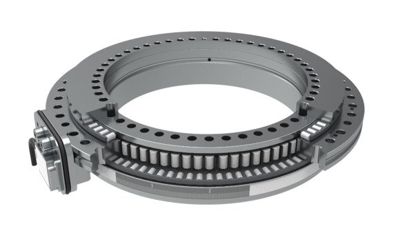 YRTCMI measuring system bearings with MHI measuring heads for incremental, inductive angle measurement