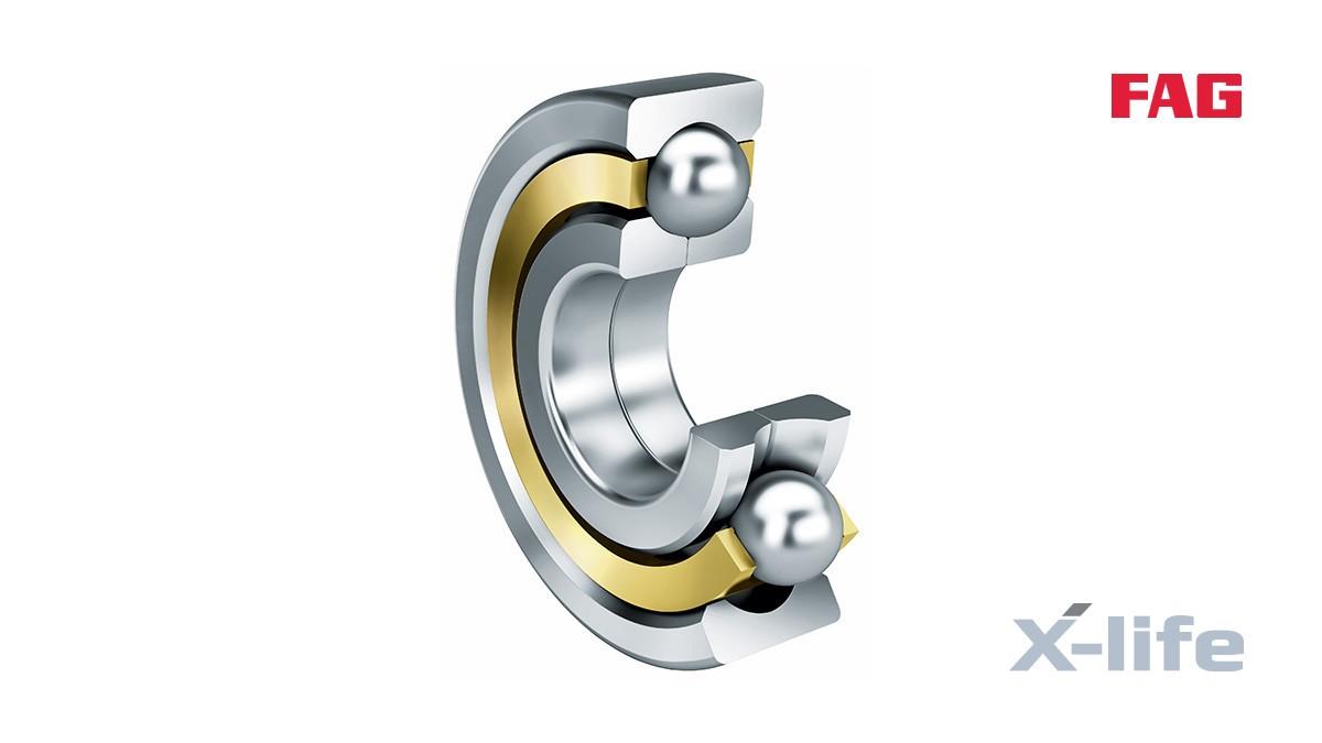 Schaeffler rolling bearings and plain bearings: Four-point contact ball bearings