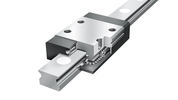 Schaeffler linear guides: Four-row miniature linear ball bearing and guideway assemblies