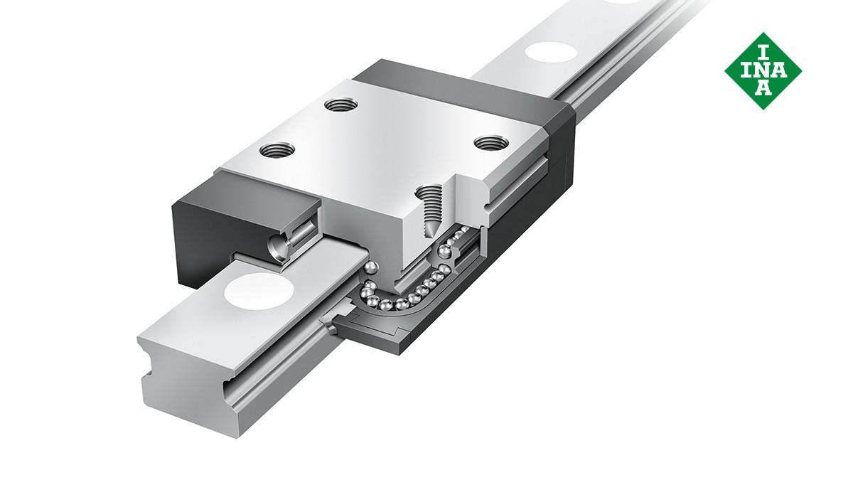 Schaeffler linear guides: Miniature linear ball bearing and guideway assemblies