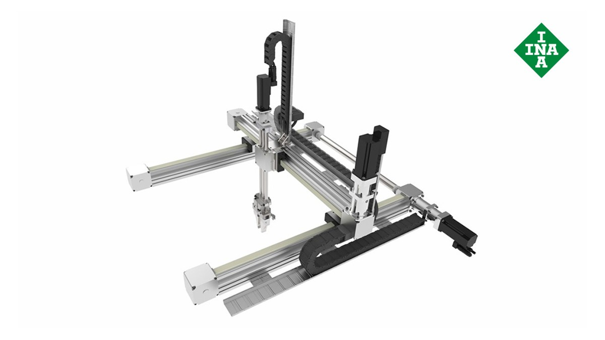 Schaeffler linear guides: Multi-axis positioning systems