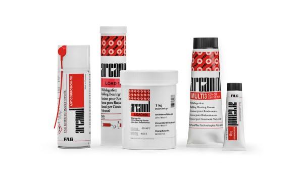 Schaeffler maintenance products: Lubricants, mounting paste